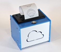 Add a mini printer to any microcontroller project with this very cute thermal printer. Also known as receipt printers, they're what you get when you go to the ATM or grocery store. Print text, barcodes, bitmap graphics, even a QR code! Image Printer, Photo Printer, Wifi Printer, Weekend Projects, Fun Projects, Project Ideas, Raspberry Pi Computer, Real Time Clock, Get Internet