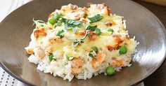 cookeo salmon risotto, for those looking for a delicious dinner at home with the cookeo, here is the salmon risotto cookeo. Canned Salmon Recipes, Fish Recipes, Seafood Recipes, Great Recipes, Cooking Recipes, Favorite Recipes, Easy Cooking, Cooking Ideas, Recipies