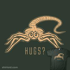 Facehugger Hugs?