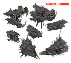Gorgon Heads-01 by Stephen-0akley.deviantart.com on @DeviantArt