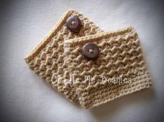 crochet boot cuffs free patterns | Gabby Boot Cuff ... by Cuddlemebeanies | Crocheting Pattern