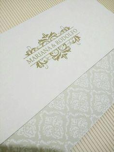 Convite de casamento clássico - Black Fr