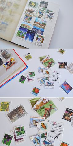My Childhood Stamp Collection