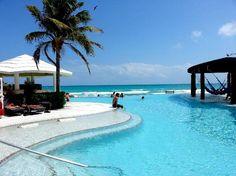 Now Jade Riviera Cancun Resort & Spa: Adults pool