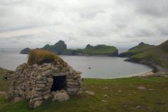 Cleit above Village Bay - St Kilda, Scotland - Wikipedia, the free encyclopedia