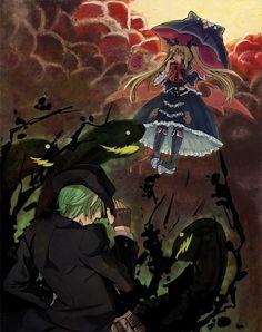 BlazBlue - Rachel Alucard vs. Hazama