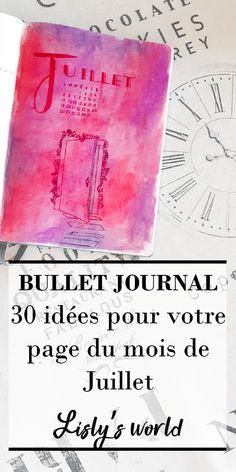 Bullet Journal En Français, Messages, Coin, Blogging, Articles, Culture, Lifestyle, Business, Happy