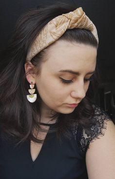 Dorè Turban Headband Turban Headbands, Our Love, Hair Inspo, Bangs, Your Hair, Pearl Earrings, Hair Accessories, Fabric, Etsy