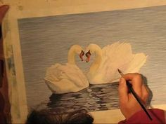 Swan Watercolor Demo - YouTube