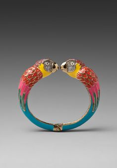 JUICY COUTURE Parrot Bangle in Multi at Revolve Clothing