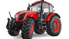 Zetor Forterra-serie. Den nye motor yder op til 147 hestekræfter uden boost.