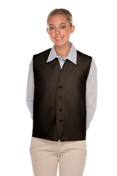 Spirio Men Waistcoat Buttons Business Sleeveless Stylish Sequins Dress Suit