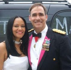 I found her after 7 years of looking ~ Beautiful interracial military couple #love #wmbw #bwwm