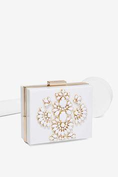 Jeweled Crossbody Bag//