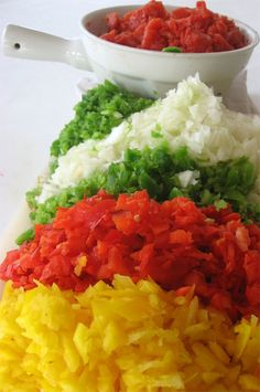 Homemade onion and pepper relish recipe #recipe skiptomylou.org