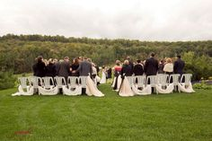 Capturing every moment. Photos by Jennifer Images Outdoor Ceremony, Ontario, Backdrops, Dolores Park, Golf, In This Moment, Club, Photos, Wedding