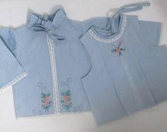 Camisa de pagão 2 peças azul bebê