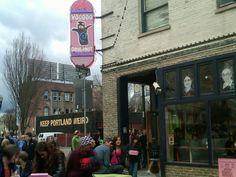 Voodoo Doughnut. Portland, Oregon