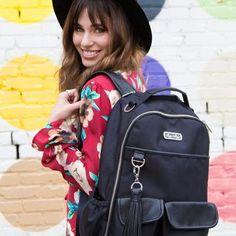 Make Summer Travel Easy! Diaper Bag Backpack, Summer Travel, Baby Love, Backpacks, Herringbone, Bags, Fashion, Handbags, Moda