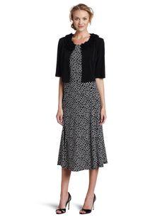 Jessica Howard Women's Paisley Jacket Dress