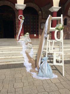 Στολισμοί Γάμου & Βάπτισης Ladder Decor, Home Decor, Decoration Home, Room Decor, Interior Decorating