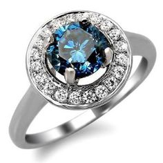 Love the Blue Diamond ... the setting not so much.