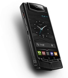 VERTU Ti: For a price that starts at €7,900 you get an Android 4.0 smartphone handmade by a single craftsman in England with Grade 5 Titanium case, sapphire crystal screen, dual-core 1,7GHz processor, 64GB internal memory, 8MP HD camera, and engineered acoustics by Bang & Olufsen.