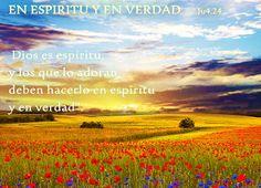 EVANGELIO DE JUAN: EN SPIRITU Y EN VERDAD   Ju4,24