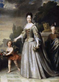 Jean-Baptiste Santerr - Maria Adelaide of Savoy , Duchess of Burgundy