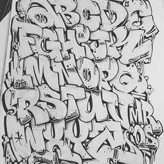 Graffiti alphabet by mrioes vwahfdeq Graffiti alphabet by mrioes vwahfdeq More from my site Marc Vickers # font# hand lettering # typography# alphabet# graffiti# Alphabets – graffiti street art – 153 photos Banksy Graffiti, Street Art Graffiti, Graffiti Words, Graffiti Writing, Graffiti Artwork, Graffiti Styles, Graffiti Numbers, Graffiti Quotes, Art Quotes