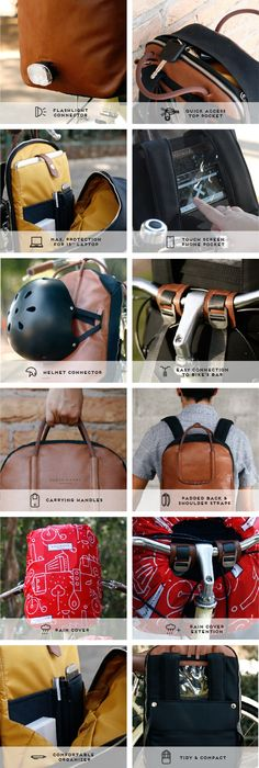 The Perfect Cycling Commuter Backpack - DUCKS IN A ROW by Anna &Tony — Kickstarter