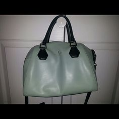 Kate Spade Catherine Pippa Mint green with black accents kate spade Bags