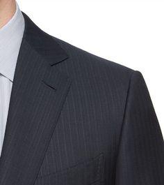 ERMENEGILDO ZEGNA:CostumeSerge de laine Fermeture avec fermetureBleu49141471AA