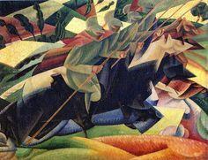 Gino Severini: Lanciers italien au galop (1915)