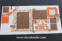 CTMH Artbooking and Babycakes scrapbooking layout - I'm in LOVE!! Get this page kit for only $8.00! Only 10 left in stock!