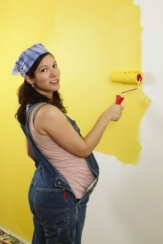 If you want to completely eliminate the risk of paint fumes affecting your baby, then you should avoid doing any painting or decorating. However, if you do choose to do some painting or decorating, there are some steps you can take, to help prevent paint or chemical fumes affecting your baby.