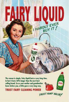 PRINT AD FOR FAIRY LIQUID (coloribus.com)