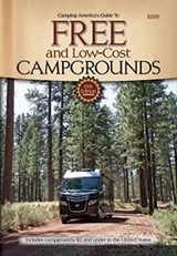 FreeCampgrounds.com organized by state