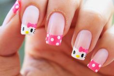 The new trend of nail designs 2020 for women Cute Nail Art, Beautiful Nail Art, Cute Nails, Pretty Nails, Beautiful Things, Pastel Nails, Pink Nails, Gel Nails, Manicure