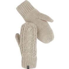 The North Face Cable Knit Mitten ($45) ❤ liked on Polyvore featuring accessories, gloves, cable knit mittens, fleece lined mittens, the north face, mitten gloves and the north face® gloves
