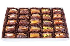 Gourmet Filled Medjool Dates - 25 Pc The Date Place