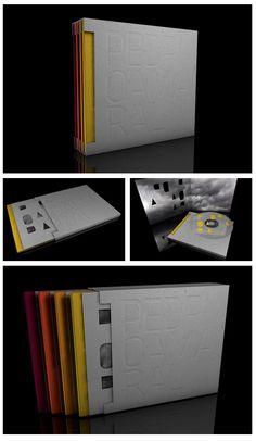 Industrial Design Portfolio, Portfolio Design, Cd Packaging, Packaging Design, Creative Brochure, Brochure Design, Company Profile Design, Folder Design, Brochure Cover
