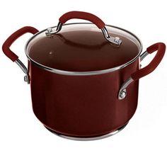 CooksEssentials 3qt Saucepot & Magnetic Trivet w/ Color Smart Nonstick