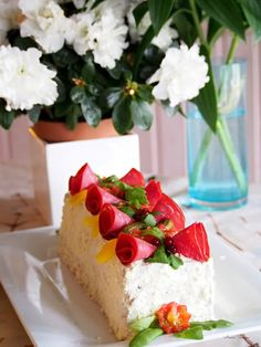 Annin Uunissa Savory Pastry, Savoury Baking, Sandwich Cake, Sandwiches, No Bake Cake, Cheesecake, Anna, Desserts, Reindeer