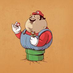 Et si les personnages de BD étaient obèses