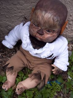 On Hallow's Eve, all baby dolls left unattended turn into werewolves or Regis Philbin!