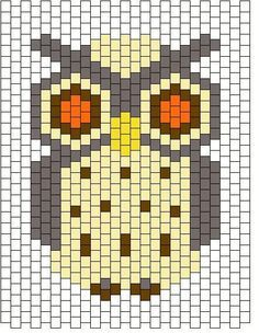 c#owl #bead #patterns