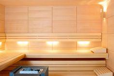ALBAZZA, iluminación especial para saunas - Freixanet Saunasport