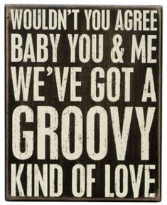 Groovy Love - Box Signs 19518 | Primitives by Kathy