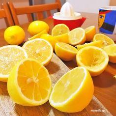 spitiki-lemonada Fruit Drinks, Dessert Recipes, Desserts, Greek Recipes, Iced Tea, Lemonade, Party Time, Smoothies, Juice